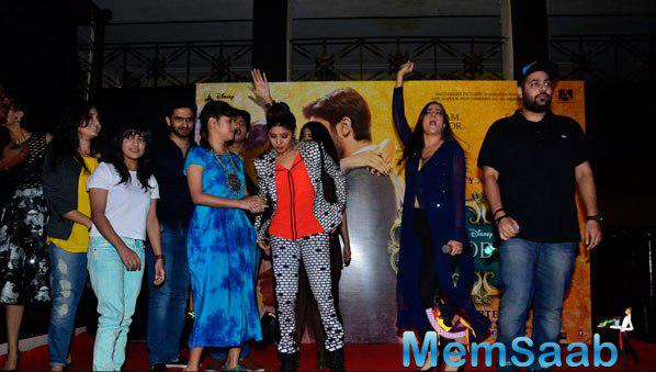 Sneha,Sunidhi And Sona Launched The Music Of Khoobsurat