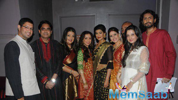 Isheeta,Madhurima,Dipika,Amrita,Amy And Other Celebs At Three Women Play