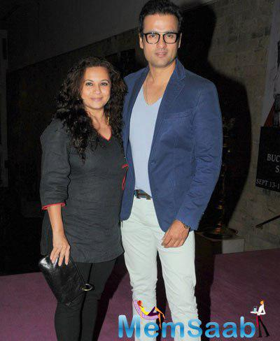 Rohit With Wife Manasi At Mandira Bedi Offered Three Similar Roles After TV Serial 24