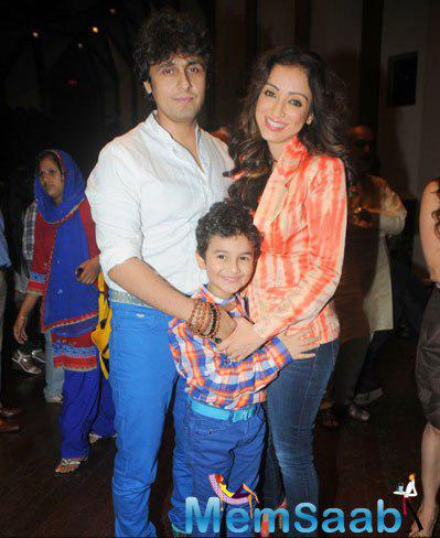Sonu With Wife Madhurima And Son At Mandira Bedi Offered Three Similar Roles After TV Serial 24