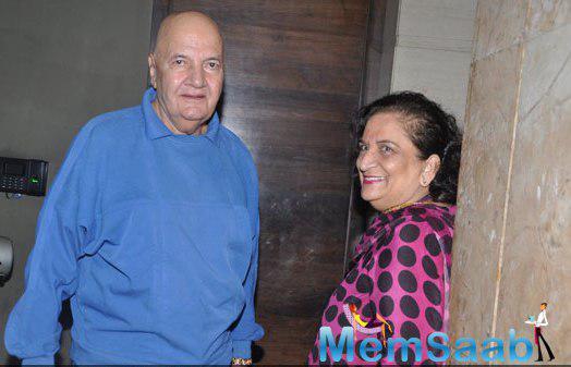 Prem Chopra Present At Mary Kom Movie Screening