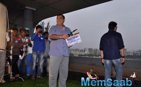David Dhawan Smiling Look During The Launch Of Vashu Bhagnani New Film Welcome 2 Karachi