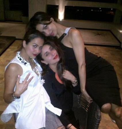 Amrita,Kareena And Malaika Cool Pose Photo Still
