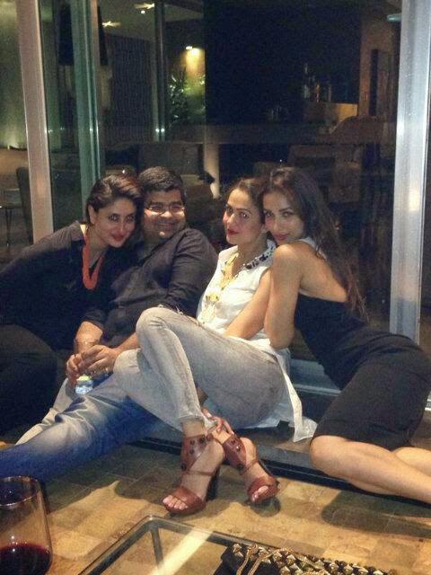 Kareena,Amrita And Malaika Night Out Party Still