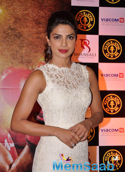 Priyanka Chopra Promotes Mary Kom In Gold Gym