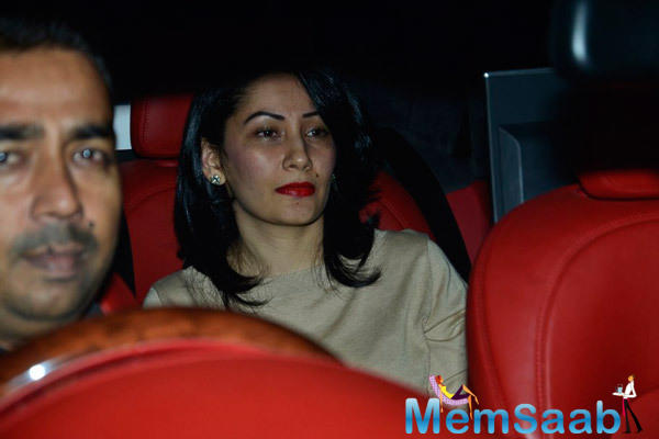 Manyata Dutt At Shilpa Shetty's Hubby Birthday Bash