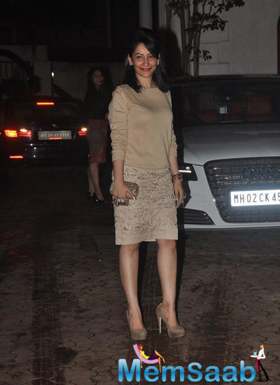 Manyata Looked Totally Different In Her New Avatar At Shilpa's Hubby Birthday Bash
