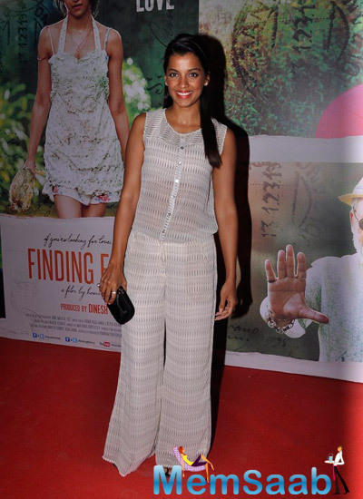 Glamour Mugdha Godse Attended Finding Fanny Screening