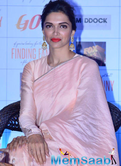 Deepika Looking Sizzling In Payal Singhal Outfit At Goa Tourism Event