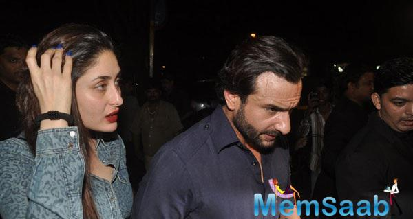 The Fresh Couple Kareena And Saif Snapped At Bandra For A Dinner Date