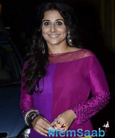Vidya Balan Attends Chairy Music Concert