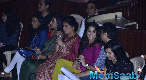 Vidya Balan At Concert Organised By The Salaam Bombay Foundation