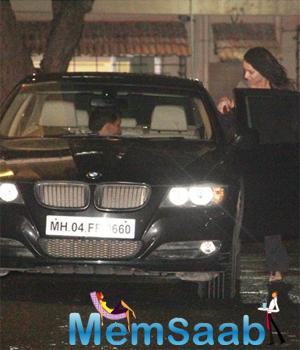 Shraddha Kapoor Return From Aditya Roy Kapur's House At Late Night