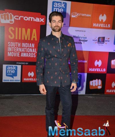 Neil Nitin Mukesh In Shantanu And Nikhil At Day 1 Of SIIMA Awards 2014