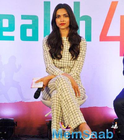Deepika Padukone Looking Good In Zara Top With Matching Pants