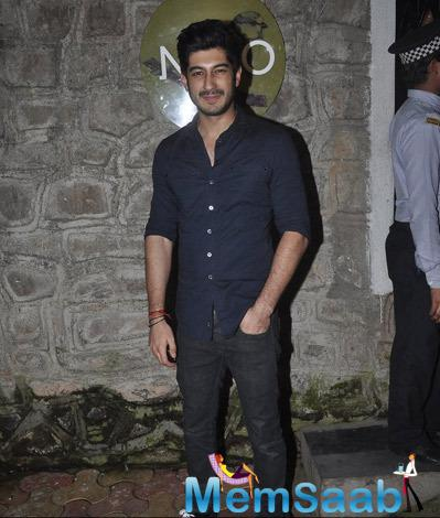 Mohit Marwah Posed Outside Of The Nido Restaurant