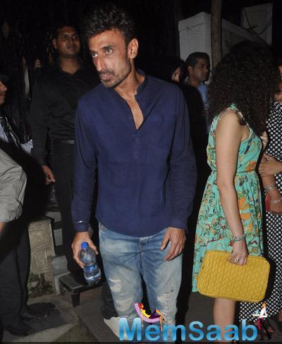 Rahul Dev Snapped At Nido Restaurant