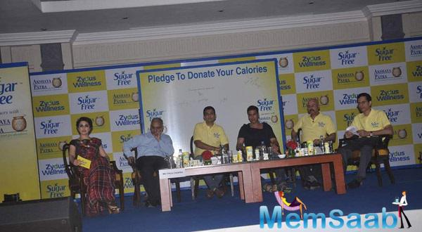 Akshay Kumar And Other Celebs Attended The Launch Of A Donate Your Calories