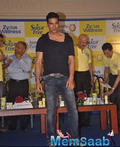 Akshay Kumar Associated With Donate Your Calories To Help Nourish Children