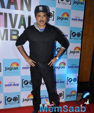 Anil Kapoor Spotted At Jagran Film Festival