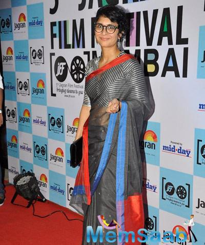 Kiran Rao Walk The Red Carpet At Jagran Film Festival