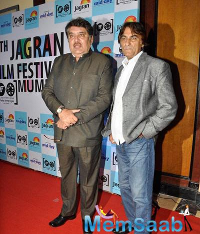 Raza Murad Unveil At Jagran Film Festival 2014 Shutterbug