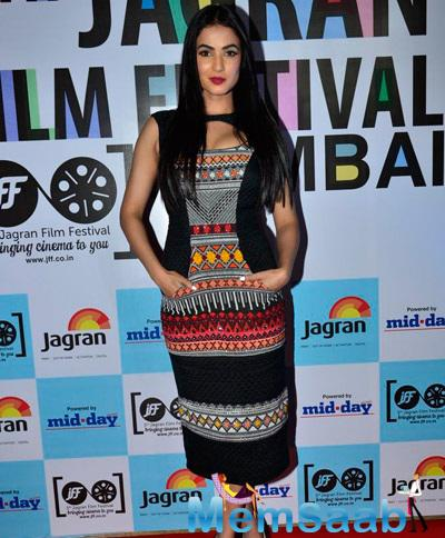 Sonal Chauhan At The Mid Day Jagran Film Festival Event