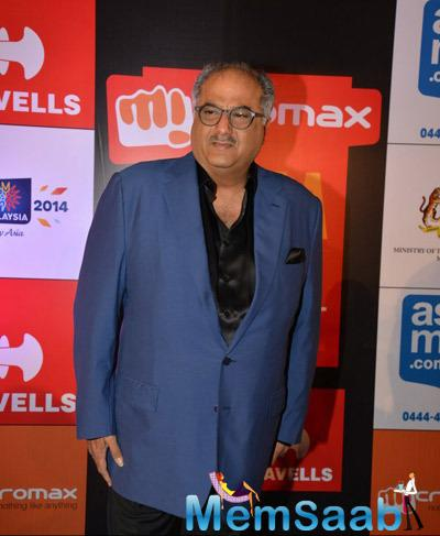 Boney Kapoor Graced At Micromax SIIMA Awards 2014 On Day 2