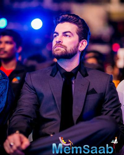 Neil Nitin Mukesh Dazzling Look At Micromax SIIMA Awards 2014 On Day 2