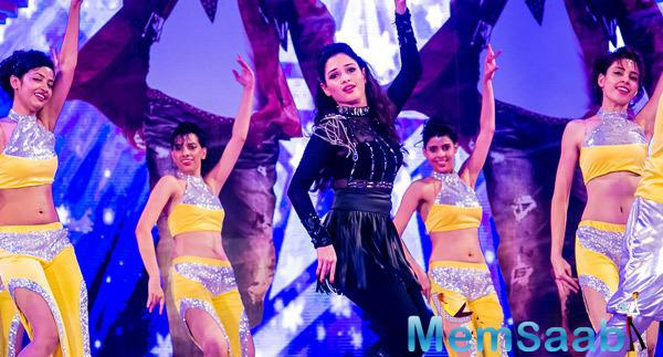 Tamannaah Bhatia Performs On The Stage On Day 2 Of Micromax SIIMA Awards 2014