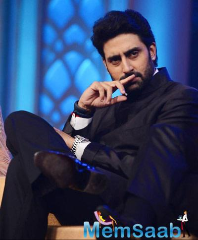 Abhishek Bachchan Interact With Media At Happy New Year Music Launch Shutterbug