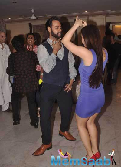 VJ Andy Cool Look During Armaan Kohli Father 85th Birthday Party