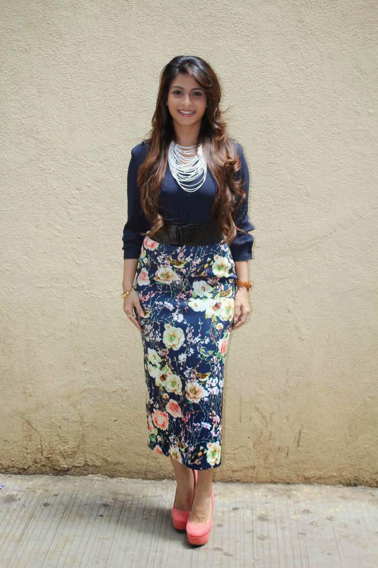Tanishaa Mukerji In Nishka Lulla And Zara At College Festival