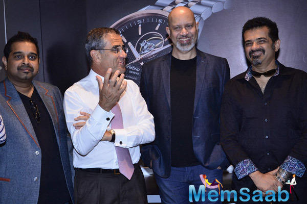 Shankar,Loy And Ehsaan Felicitated At Raymond Weil Boutique Store