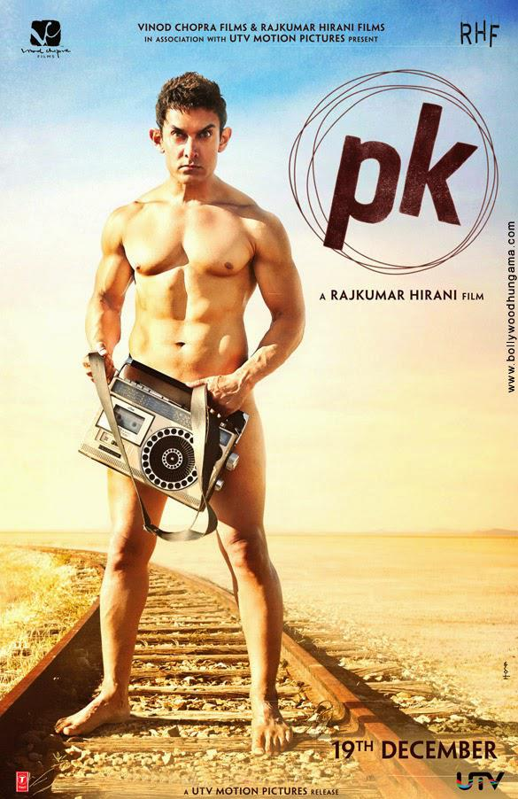 Aamir Khan Nude Look In Rajkumar Hirani Most Awaited Film PK