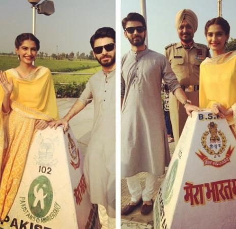 Sonam And Fawad Visit Amritsar For Khoobsurat Promotions