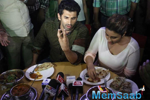 Parineeti And Aditya Conclude Their Food Yatra With A Bang