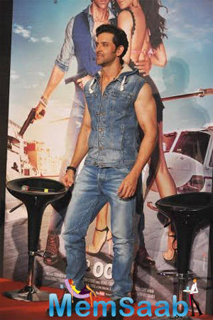 Hrithik Roshan Spotted At Bang Bang Title Song Launch Event
