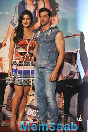 The Sizzling Pair Hrithik And Katrina Launches The Title Song From Bang Bang