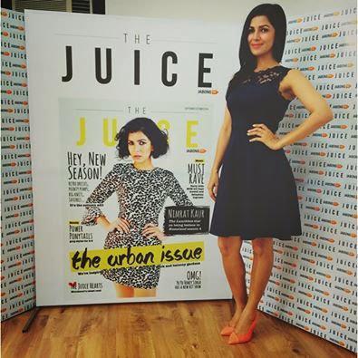 Nimrat Kaur Unveils Latest Cover Of The Juice Magazine September Edition