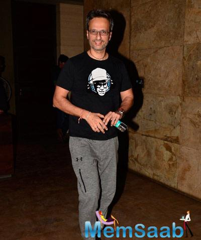Anil Thadani Spotted At Special Screening Of Khoobsurat