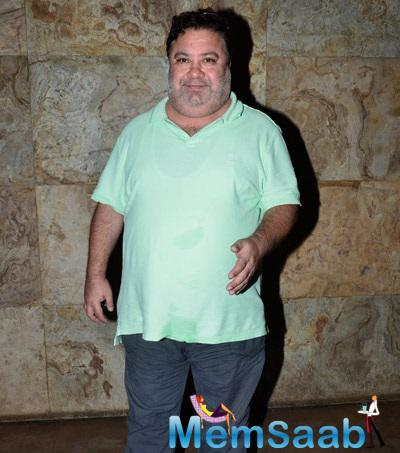 Manoj Pahwa Attended Special Screening Of Khoobsurat Hosted By Anil Kapoor