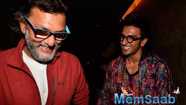 Ranveer Fun With Rakeysh Omprakash Mehra AT Special  Screening Of Khoobsurat