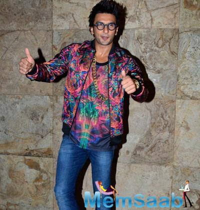 Ranveer Singh Gets Us Blind At Khoobsurat Screening