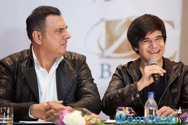 Boman And Vivaan Were In A Light And Chirpy Mood At Slam! The Tour Press Conference