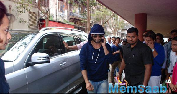 Shahid Kapoor Arrives At At Red FM 93.5 For Haider Promotion Shutterbug