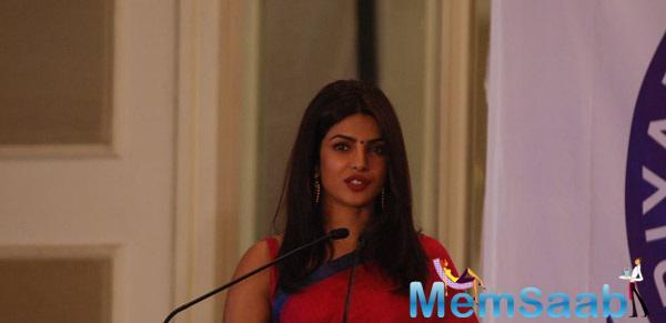 Priyadarshni Academy Felicitates Priyanka Chopra