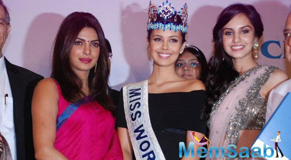 Priyanka Chopra Receives Priyadarshni Award For Super Performance In Mary Kom