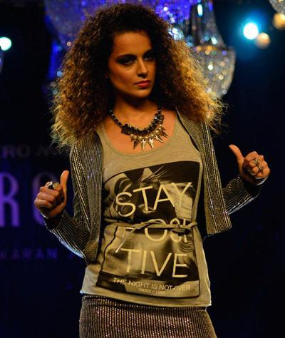 Kangana Rocks The Stage During Walks For Karan's Vero Moda Collection