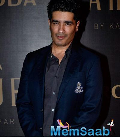 Manish Malhotra  Attended Karan's Fashion Collection Launch